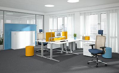 Büromöbel und Objektmöbel